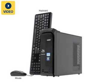 Gateway SX2870-UR10P DT.GD2AA.001 Desktop PC w/ Core i3-2120 3.3GHz, 6GB DDR3, 1TB HDD, DVDRW