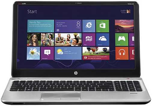 "HP ENVY m6-1105dx 15.6"" Laptop w/ Quad-Core A10-4600M, 6GB DDR3, 750GB HDD, DVD±RW, Radeon HD 7660G, Windows 8"