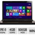$419.99 Lenovo G580 59344054 15.6-Inch Notebook PC w/ i5-3210M 2.5GHz, 4GB DDR3, 500GB HDD, DVDRW, Windows 8 @ TigerDirect