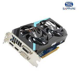 SAPPHIRE 100354OCL Radeon HD 7870 GHz Edition 2GB 256-bit GDDR5 PCI Express 3.0 x16 CrossFireX Support Video Card