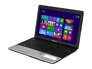 "Gateway NE51B10u 15.6"" Notebook w/ AMD Dual-Core Processor E-300, 4GB RAM, 320GB HDD, DVD Super Multi, AMD Radeon HD 6310 Graphics, Windows 8"
