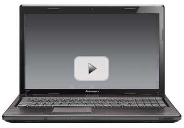 "Lenovo G570 4334EEU 15.6"" Notebook w/ Core i5-2450M, 4GB DDR3, 500GB HDD, DVDRW"