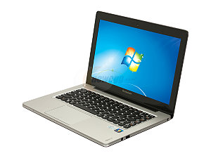"Lenovo IdeaPad U310 43752CU 13.3"" Ultrabook w/ i3-3217M 1.8GHz, 4GB DDR3, 500GB HDD + 32GB SSD"