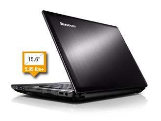 """Lenovo IdeaPad Y580 - 59359510 15.6"""" Laptop w/ 3rd Gen i7-3630QM, 8GB DDR3, 1TB HDD + 16G SSD, NVIDIA GeForce GTX660M 2GB, Windows 8"""