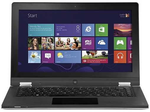 "Lenovo YOGA 13 - 59342722 13.3"" Touch-Screen Ultrabook w/ i5-3317U, 8GB DDR3, 128GB SSD, Windows 8"