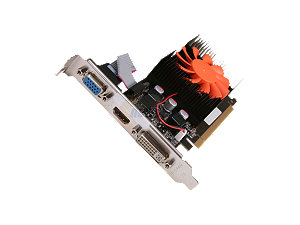 PNY VCGGT4302XPB GeForce GT 430 (Fermi) 2GB 128-bit DDR3 PCI Express 2.0 x16 HDCP Ready Video Card