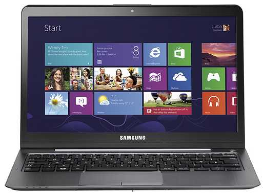 "Samsung NP540U3C-A02UB 13.3"" Touch-Screen Ultrabook w/ i3-3217U, 4GB DDR3, 500GB HDD, Windows 8"