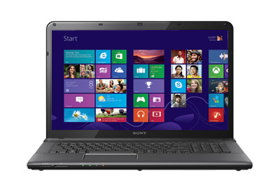 "Sony VAIO E SVE171290X 17.5"" Custom Laptop w/ Intel Core i5-3210M 2.4GHz, 4GB DDR3, 320GB HDD, Intel HD Graphics 4000"