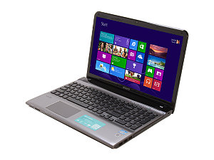 "Sony VAIO E Series SVE1512GCXS 15.5"" Notebook w/ Intel Core i5-3210M 2.50GHz, 4GB Memory, 500GB HDD, Windows 8"