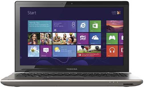 "Toshiba Satellite P845t-S4310 14"" Touch-Screen Laptop w/ i5-3317U, 6GB DDR3, 750GB HDD, Windows 8"