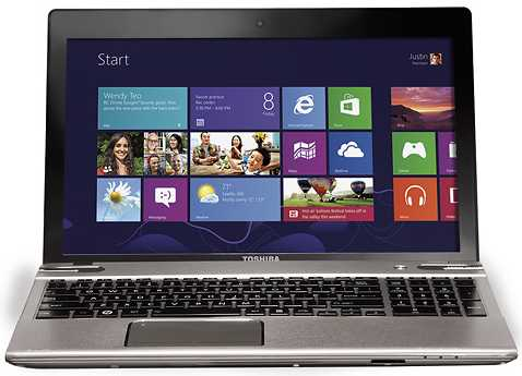 "Toshiba Satellite P855-S5312 15.6"" Laptop w/ i5-3210 CPU, 6GB DDR3, 750GB HDD, Windows 8"