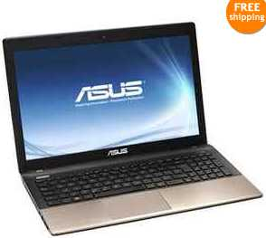 "Asus K55A-DH71 15.6"" Notebook w/ Core i7-3630QM 2.4GHz, 4GB DDR3 RAM, 500GB HDD, Intel HD 4000, Windows 8"