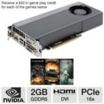 Sale: $196.99 EVGA GeForce GTX 660 02G-P4-2662-KR Video Card w/ 2GB GDDR5, PCI-Express 3.0(x16), 1x Dual-link DVI-I, 1x Dual-link DVI-D, 1x DisplayPort, 1x HDMI, DirectX 11, SLI Ready, Superclocked, Dual-Slot @ TigerDirect