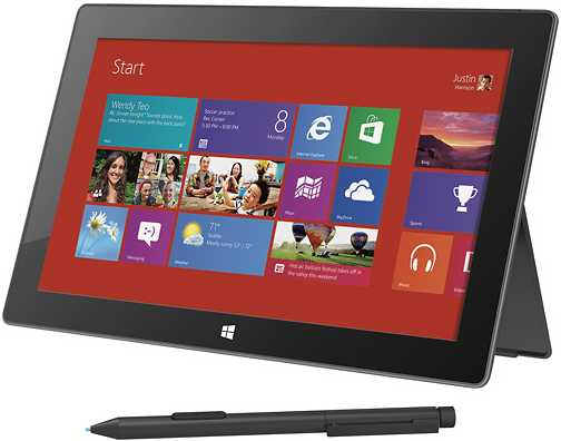 "Microsoft Surface Windows 8 Pro 9UR-00001 10.6"" Touch-Screen with 128GB Memory"