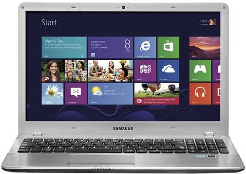 "Samsung NP510R5E-A01UB 15.6"" Laptop w/ i5-3230M CPU, 6GB DDR3, 750GB HDD, Intel HD Graphics 4000, Windows 8"