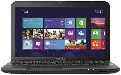"Toshiba Satellite C855D-S5106 15.6"" Laptop w/ AMD Dual-Core E-300, 4GB DDR3, 320GB HDD, AMD Radeon HD 6310, Windows 8"