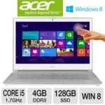 $899 Acer Aspire S7-391-6810 13.3″ Ultrabook PC w/ 3rd Gen. Intel Core i5-3317U 1.7GHz, 4GB RAM, 128GB SSD, 13.3″ Touchscreen Display, Windows 8 64-bit @ Fry's