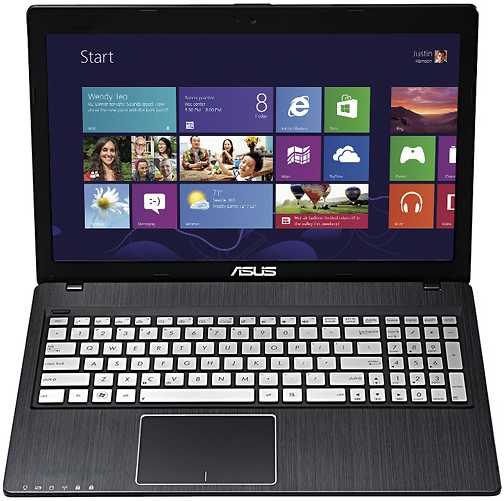 "Asus Q500A-BSI5N04 15.6"" Laptop w/ Intel Core i5-3230M, 6GB DDR3, 750GB HDD, DVD±RW/CD-RW, Windows 8"