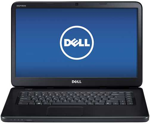 "Dell Inspiron I15-1366BK 15.6"" Laptop w/ Intel Celeron B820, 320GB HDD, 4GB DDR3, Windows 8"