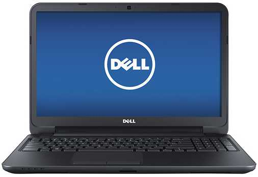 "Dell Inspiron I15RV-1428BLK 15.6"" Laptop w/ Intel Pentium 2117U, 4GB DDR3, 500GB HDD, Windows 8"