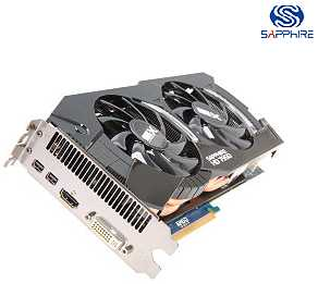 SAPPHIRE 100352-2L Radeon HD 7950 3GB 384-bit GDDR5 PCI Express 3.0 x16 HDCP Ready CrossFireX Support Video Card