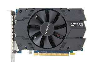 SAPPHIRE 100358L Radeon HD 7770 GHz Edition 1GB 128-bit GDDR5 PCI Express 3.0 x16 CrossFireX Support Video Card
