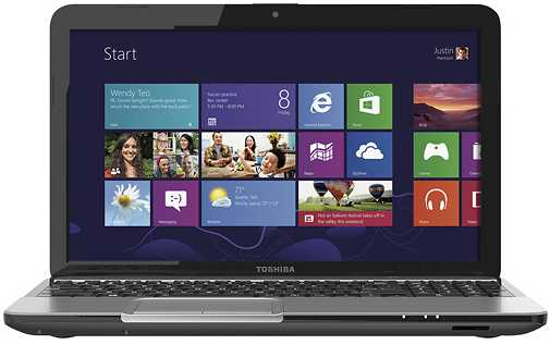 "Toshiba Satellite L855-S5113 15.6"" Laptop w/ Intel Core i3-3120M, 4GB DDR3 RAM, 640GB HDD, Intel HD graphics, Windows 8"