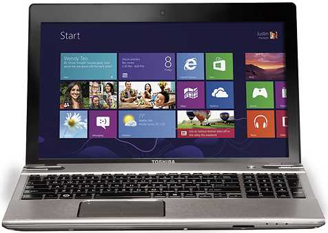 "Toshiba Satellite P855-S5102 15.6"" Laptop w/ Core i5-3230, 8GB DDR3 RAM, 750GB HDD, Windows 8"