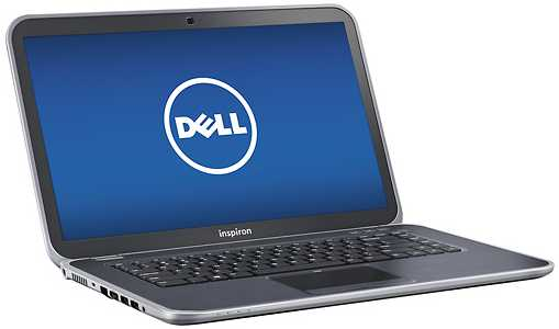 "Dell I15Z-4801SLV 15.6"" Touch-Screen Ultrabook w/ Core i7-3537U, 8GB DDR3, 500GB HDD, Windows 8"