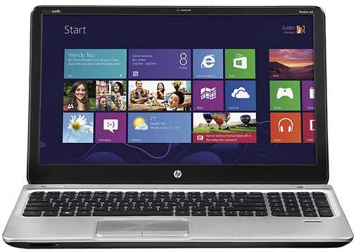 "HP ENVY m6-1205dx 15.6"" Laptop w/ AMD Quad-Core A10-4600M, 6GB DDR3, 750GB HDD, AMD Radeon HD 7660G, Windows 8"