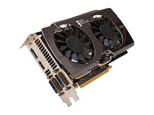MSI N660 TF 2GD5/OC GeForce GTX 660 2GB 192-bit GDDR5 PCI Express 3.0 x16 HDCP Ready SLI Support Video Card