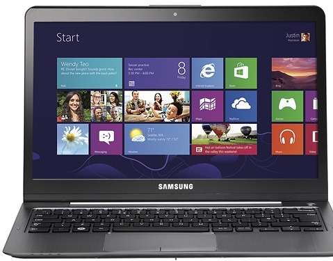 "Samsung NP540U3C-A03UB Series 5 13.3"" Touch-Screen Ultrabook w/ Core i5-3317U, 4GB DDR3, 500GB HDD, Windows 8"