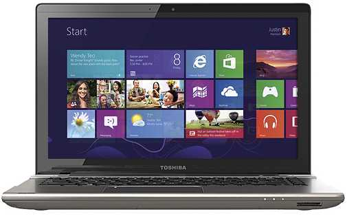 "Toshiba Satellite P845T-S4102 14"" Touch-Screen Laptop w/ Intel Core i5-3337U, 8GB DDR3, 750GB HDD, Windows 8"
