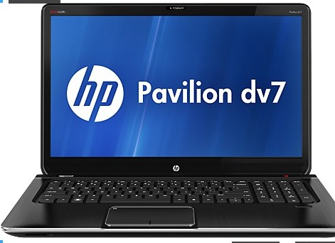 "HP Pavilion dv7t-7000 17.3"" Quad Edition Entertainment Notebook PC w/ i7-3610QM, 8GB DDR3, 1TB HDD, Windows 8"