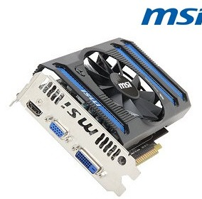 MSI N650TI-1GD5/V1 GeForce GTX 650 Ti 1GB 128-bit GDDR5 PCI Express 3.0 HDCP Ready Video Card