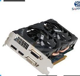SAPPHIRE 100355-1GOCL Radeon HD 7850 1GB 256-bit GDDR5 PCI Express 3.0 x16 HDCP Ready CrossFireX Support Video Card OC Version