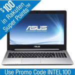 $419.99 ASUS S56CA-WH31 15.6″ Ultrabook w/ Intel Core i3-3217U (1.7GHz), 4GB DDR3, 500GB, 24GB SSD + $100 Rakuten Points @ Rakuten