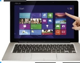 ASUS Transformer Book TX300CA-DH71 13.3-Inch Touchscreen Laptop