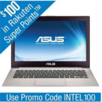 $799.99 ASUS UX31A-R7202F 13.3″ Ultrabook w/ Intel Core i7-2517U 1.9GHz, 4GB RAM, 256GB SSD, Windows 7 @ Rakuten.com