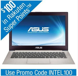 "ASUS UX31A-R7202F 13.3"" Ultrabook w/ Intel Core i7-2517U 1.9GHz, 4GB RAM, 256GB SSD, Windows 7"