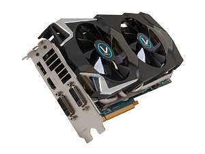 SAPPHIRE Vapor-X 100351VXSR Radeon HD 7970 GHz Edition 3GB 384-bit GDDR5 PCI Express 3.0 x16 HDCP Ready CrossFireX Support Video Card