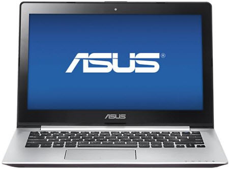"Asus S300CA-BBI5T01 13.3"" Touch-Screen Laptop w/ i5-3337U CPU, 4GB DDR3, 500GB HDD, Windows 8"