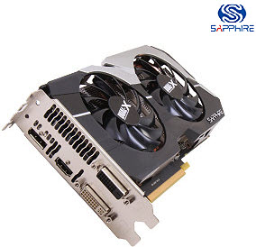 SAPPHIRE 100356OCL Radeon HD 7790 OC 1GB DDR5 PCI-Express Video Card