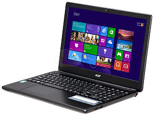 "Acer Aspire E1-572-6870 15.6"" Notebook w/ Intel Core i5 4200U(1.60GHz), 4GB Memory, 500GB HDD, Windows 8"