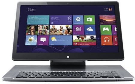 "Acer Aspire R7-571-6858 15.6"" Convertible Touch-Screen Laptop w/ Intel Core i5-3337U, 6GB DDR3 RAM, 500GB HDD, Windows 8"