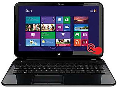 "HP Pavilion 14-b124us 14"" Sleekbook w/ i3-3227U, 6GB DDR3, 500GB HDD, Windows 8"