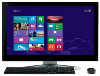 Sony VAIO SVL24125CXB L Series Touchscreen All-in-One w/ Intel Core i5 2.5GHz, 8GB DDR3, 2TB HDD, Windows 8