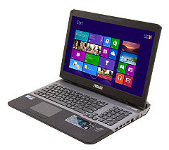 "ASUS G75VW-NH71 17.3"" Notebook w/ Intel Core i7 3630QM(2.40GHz), 12GB Memory, 500GB HDD, DVD±R/RW, Windows 8"