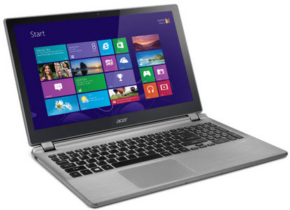 "Acer Aspire V5-572P-6858 15.6"" Touchscreen Laptop w/ i5-3337U 1.80GHz, 4GB, 500GB HDD"