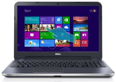 Dell Inspiron i15RM-12439SLV 15.6-Inch Touchscreen Laptop